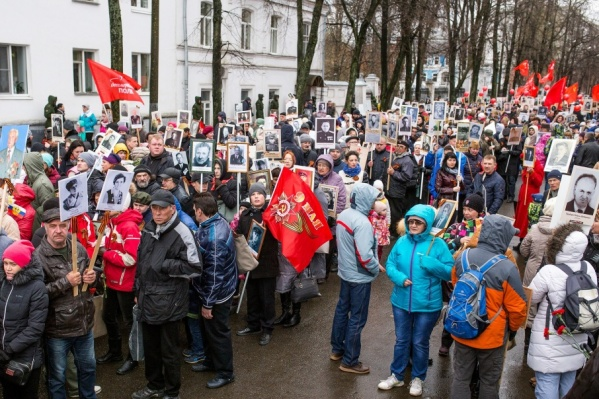 Формирование колонны начнется в 11 часов у памятника Некрасову