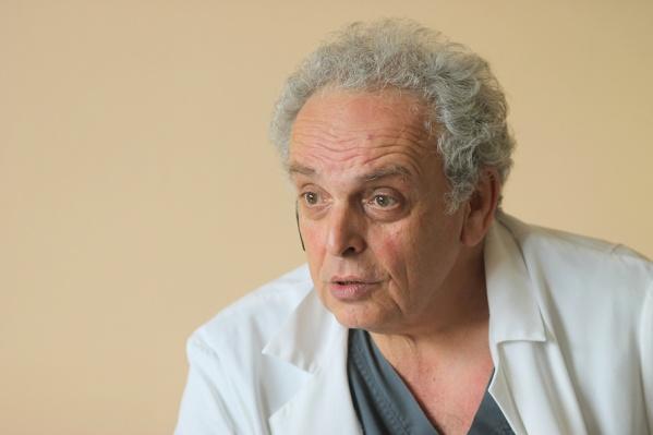 Леониду Полляку присвоено звание заслуженного врача Российской Федерации