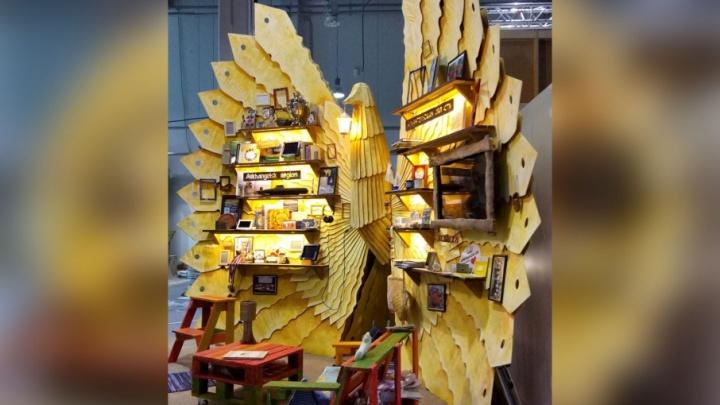 Поморская птица счастья приземлилась на Всемирном фестивале молодежи и студентов в Сочи