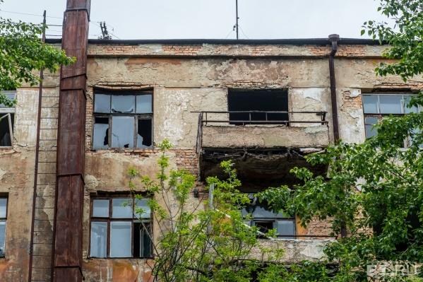 Дом на Чапаева необитаем вот уже более 6 лет.
