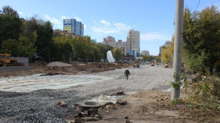Министр Пивкин: дождь тормозит строительство Ново-Садовой в районе «Макдоналдса»