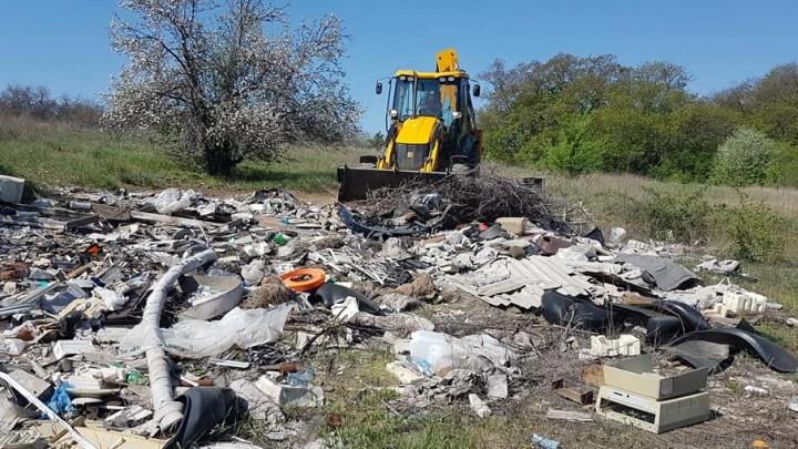 Волгоградцы вывезли с Лысой горы 35 КАМАЗов с мусором