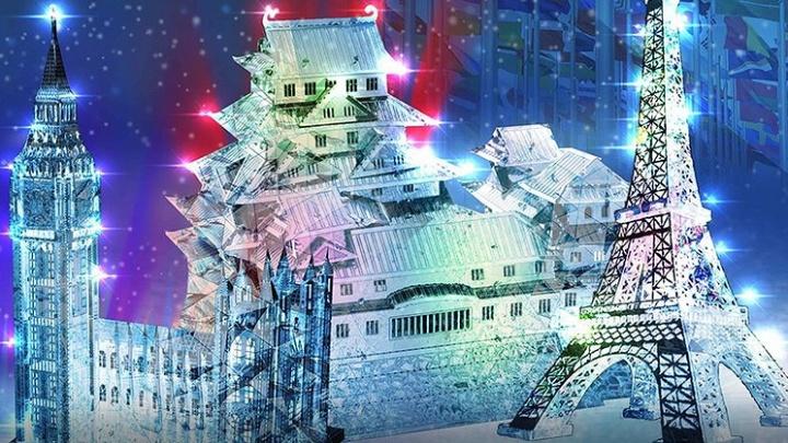В Москве появятся копии Эйфелевой башни и Биг-Бена из архангельского льда