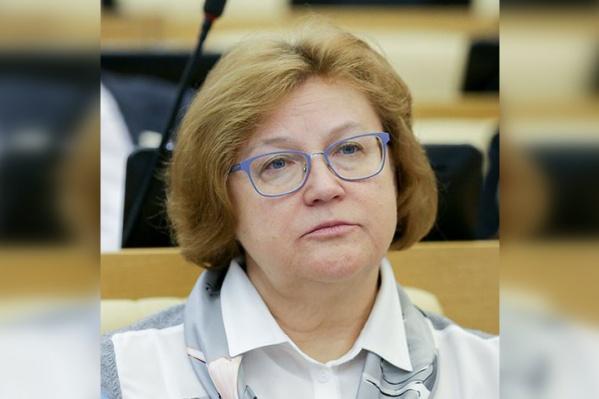 Надежду Колесникову избрали депутатом Госдумы в 2016 году