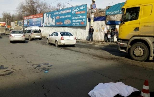 В Самаре женщина-водитель задавила пьяного пешехода