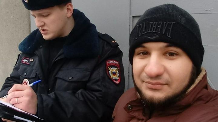 Приняли за шахида: ростовского активиста Гаспара Авакяна попыталась задержать полиция
