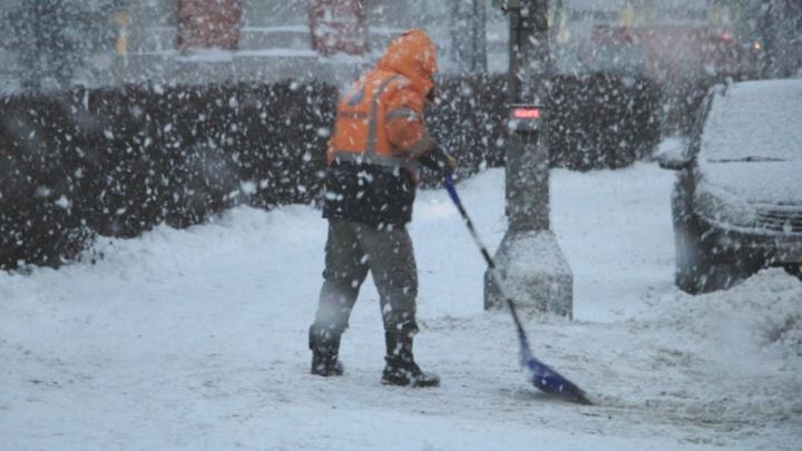 Белые мухи атакуют: как Архангельск завалило снегом
