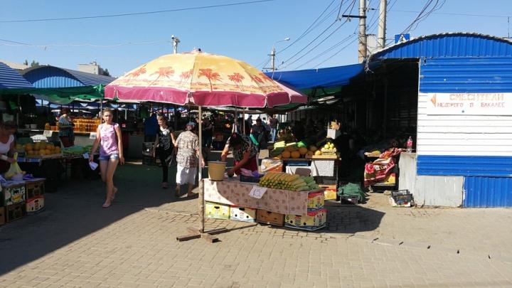 Овощной рынок на Тракторном сдвинут на десять метров вглубь