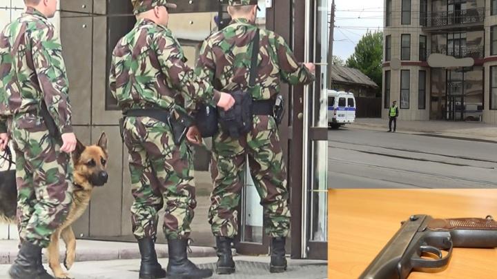 В Самаре гостиницу эвакуировали из-за сумки с пистолетом
