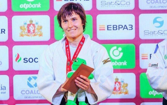 Тюменская дзюдоистка Наталья Кузютина завоевала бронзу турнира «Большой шлем»