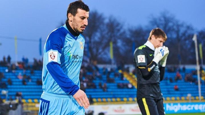 Голкипер Сослан Джанаев объявил об уходе из ФК «Ростов»