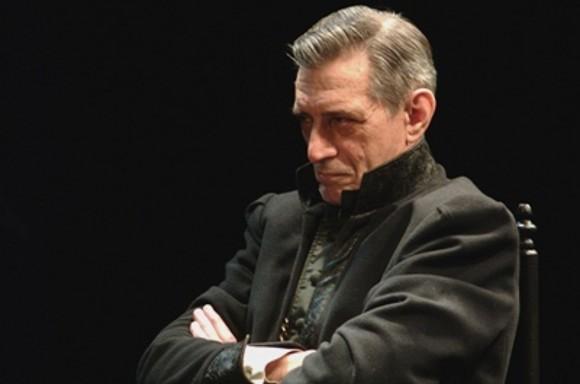 """Ф. Шиллер """"Мария Стюарт""""  Лорд Берли - В.М. Ивченко. Режиссер Т.Н.Чхеидзе. 2005 год."""