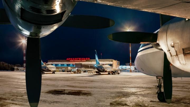 Аэропорт Архангельск поставил новый рекорд