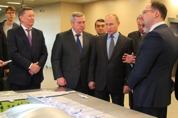 Владимиру Путину презентовали крупнейший инвестпроект юга России