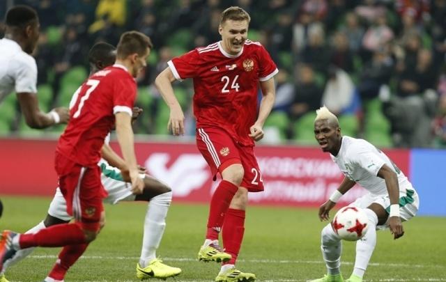 Игрок ФК «Ростов» Бухаров спас сборную России от поражения в игре с бельгийцами