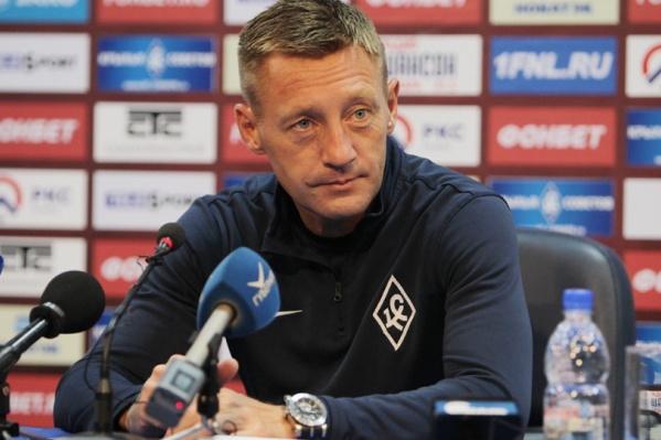 Андрей Тихонов вывел команду в Премьер-лигу