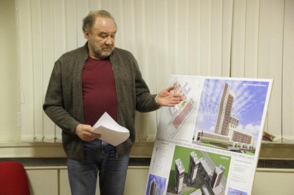 За строительство домов проголосовали жильцы
