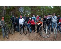 Сотрудники ОАО «МРСК Центра» посвятили велопробег погибшим хоккеистам