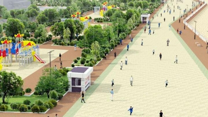Пляж, детские площадки и велодорожки: ростовчане поддержали макет благоустройства левобережья
