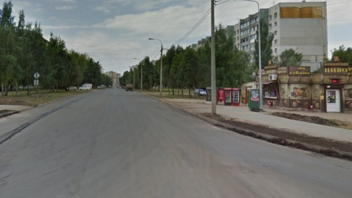 В Самаре в ДТП мотоциклист сломал ногу