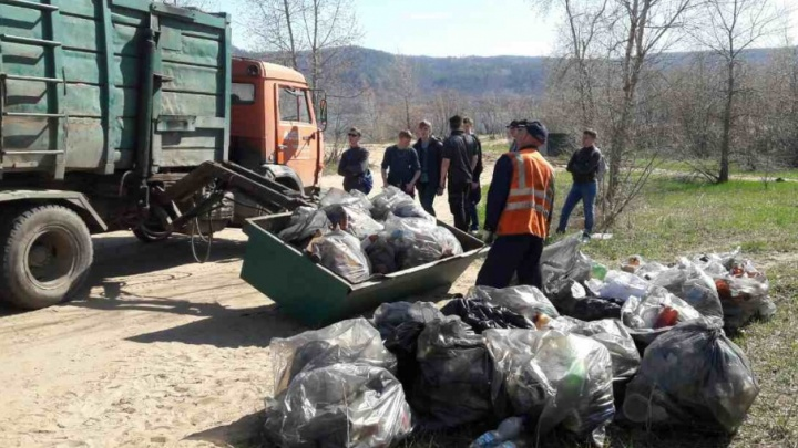 Из Самары в апреле вывезут 123 тысячи кубометров мусора