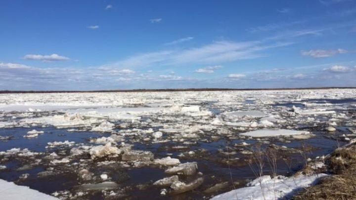 В Архангельской области закрылись все ледовые переправы