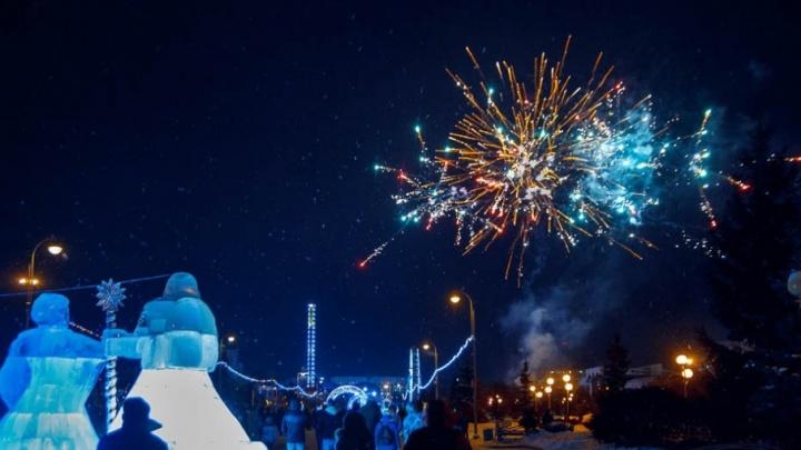 Фейерверки, резиденция Деда Мороза: что ещё будет на открытии главной  новогодней ёлки Тюмени