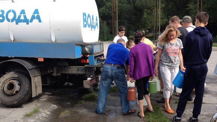 Дома в районе Теплотеха остались без воды из-за коммунальной аварии