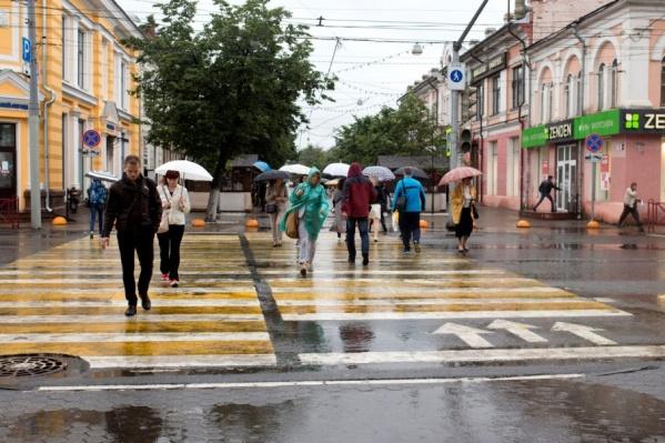 Пора доставать зонты и дождевики