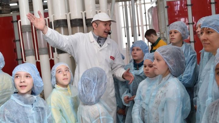 Путешествие в страну «МАКФА»: школьники стали гостями одного из крупнейших в России пищевых предприятий
