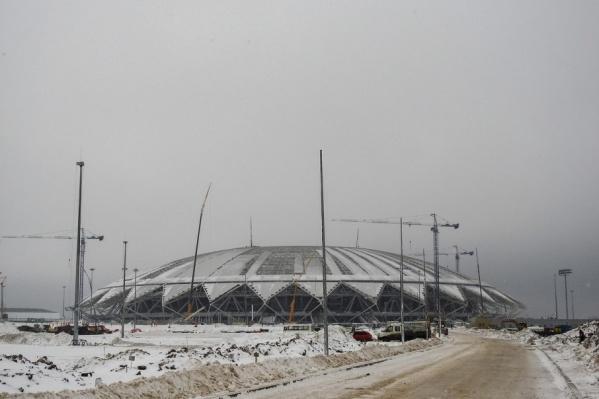 Арена рассчитана на 45 тысяч зрителей