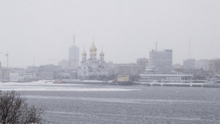 В субботу в Поморье пройдет мокрый снег