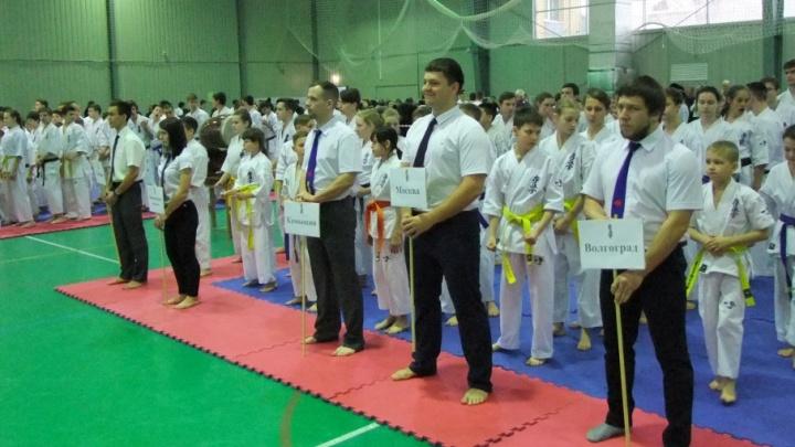 Волгоградский каратист победил двукратного чемпиона мира в борьбе за «Кубок Сталинграда»