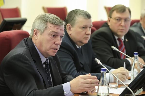 Приказ о том, что Василий Голубев войдет в состав Госсовета, был подписан накануне