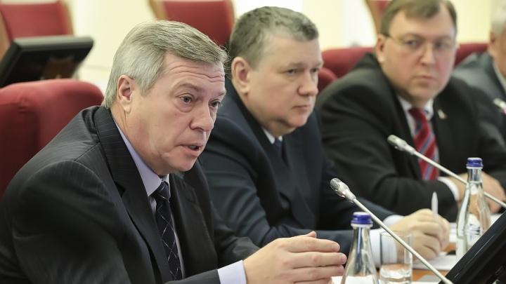 Президент включил донского губернатора в состав Госсовета РФ