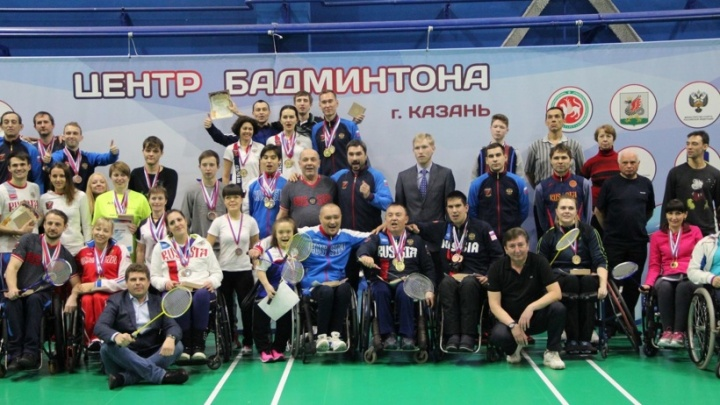 Северяне завоевали три медали на Кубке России по парабадминтону