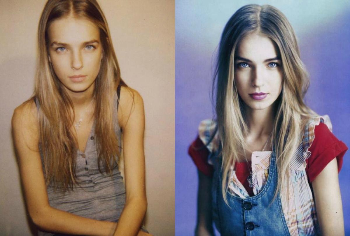 15 лет назад (слева) и сейчас. Магия фотошопа?
