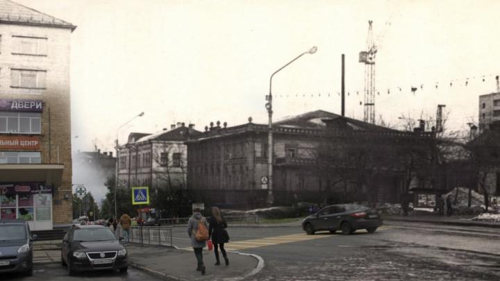 Деревянный город, которого нет: сравниваем старые фотографии центра Архангельска с новыми