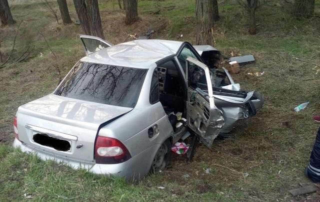 В ДТП на трассе Ростов–Волгодонск пострадали четыре человека
