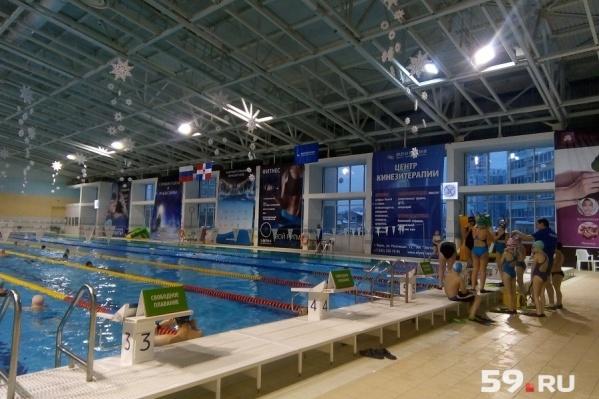 ЧП случилось днем 2 апреля в спорткомплексе «Олимпия»