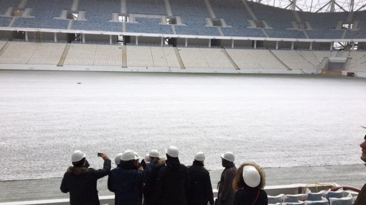«Волгоград Арену» осматривают на готовность принять финал Кубка России по футболу