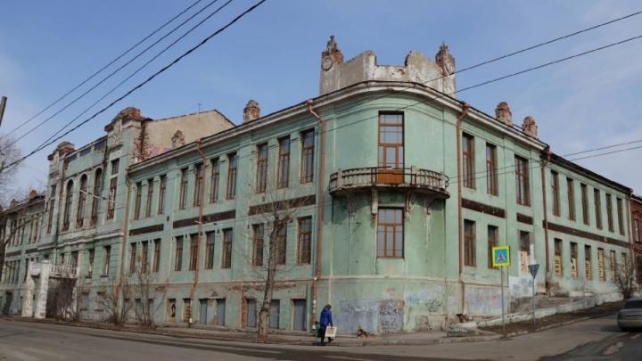 В Самаре наняли охрану для заброшенного здания Реального училища