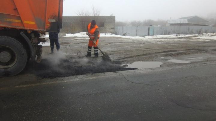 С середины февраля в Самаре стартует аварийно-ямочный ремонт дорог