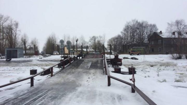 Сегодня в Архангельске открылась переправа на Бревенник