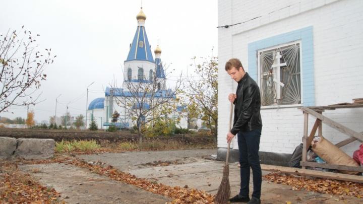 Сирота из Ростова поселился в храме, не дождавшись от государства жилья