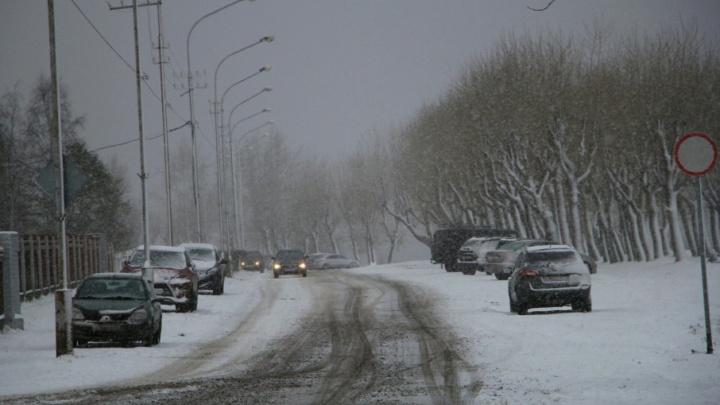 Новая неделя в Поморье начнется с гололеда и мокрого снега