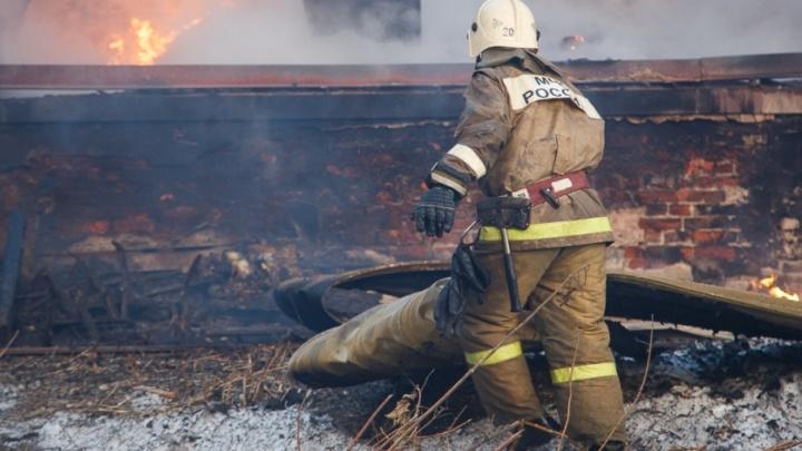 В Волгоградской области за ночь сгорели два человека