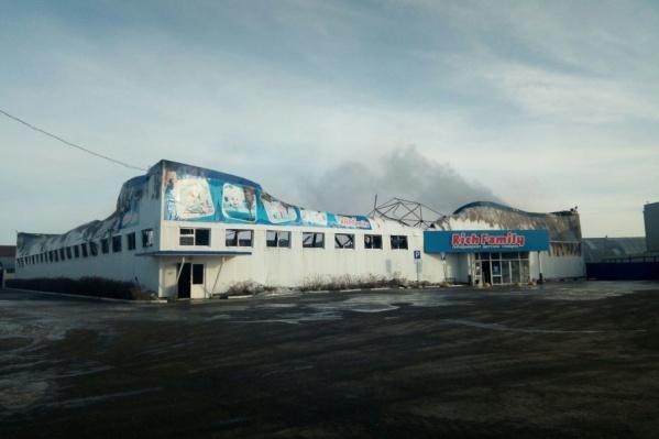 Площадь нового гипермаркета Rich Family сопоставима с предыдущим сгоревшим магазином