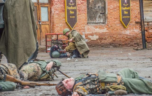 В Волгограде прошли ожесточенные бои на территории горчичного завода