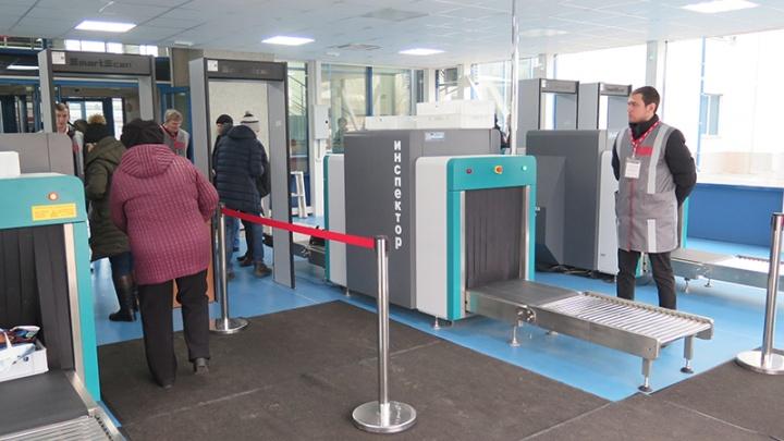 Радиационный контроль и рентген: на пригородном вокзале открыли досмотровый павильон